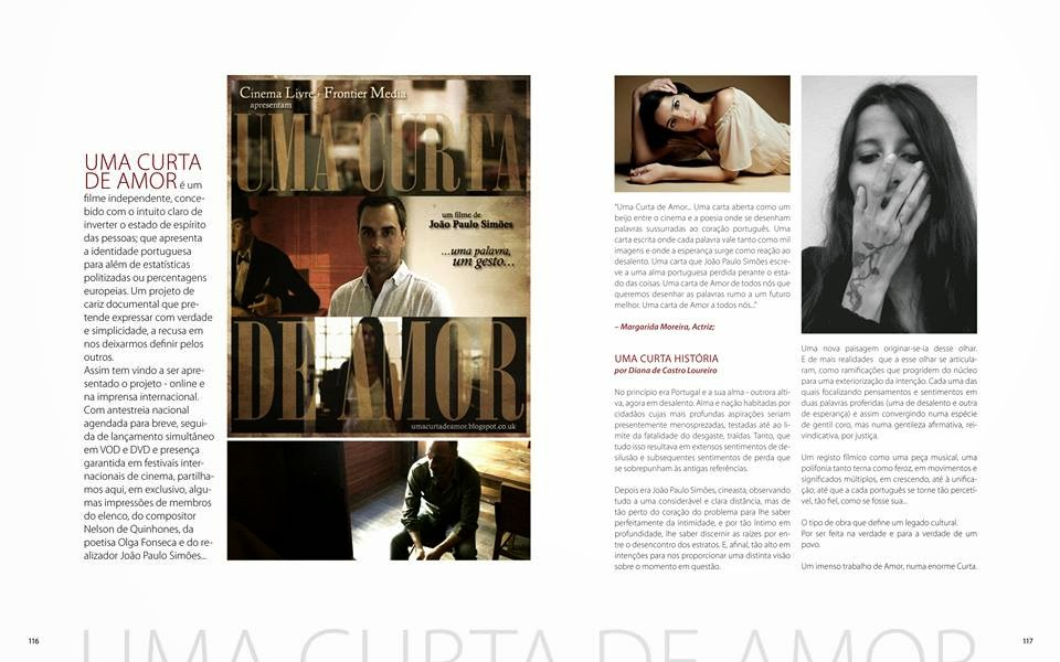 Acerca d'Uma Curta de Amor ´Na !N Magazine#6 (pág. 116 -121):