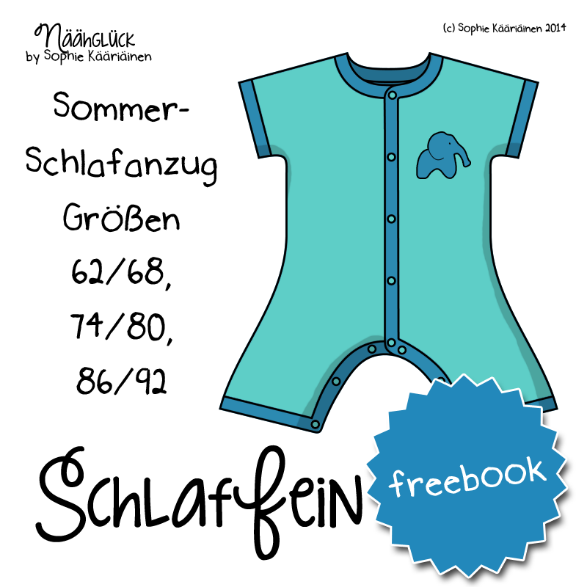 Näähglück by Sophie Kääriäinen: Freebook \