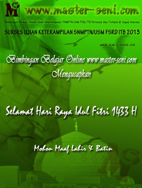 Selamat Hari Raya Idul Fitri 1 Syawal 1433 H