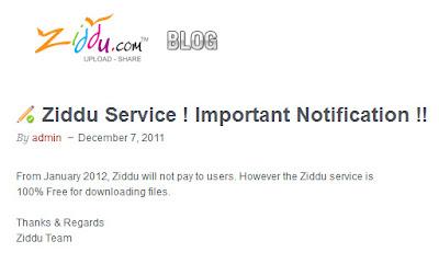 Ziddu Tidak Membayar Lagi Penggunanya, Aep saepuloh