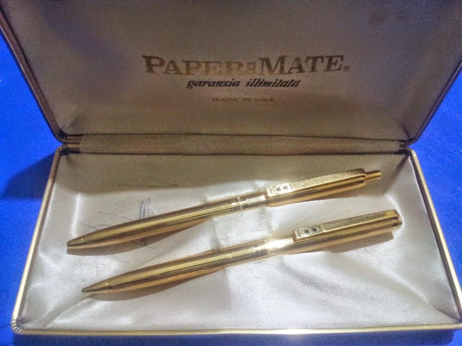 Silvium antiques s vintage paper mate pen and pencil