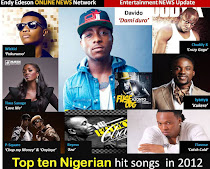 Top ten Nigerian hit songs in 2012.