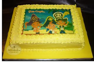 Torta Jake y los piratas del nunca jamás