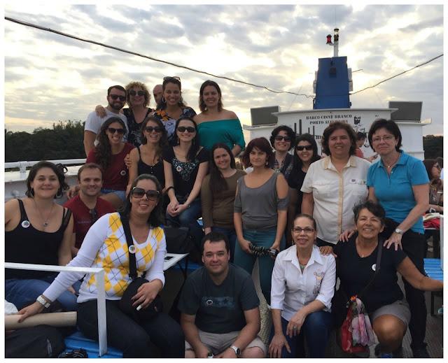 Tchêncontro - passeio de barco pelo Guaíba