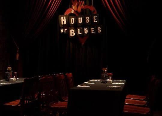 House Of Blues Houston Food Menu