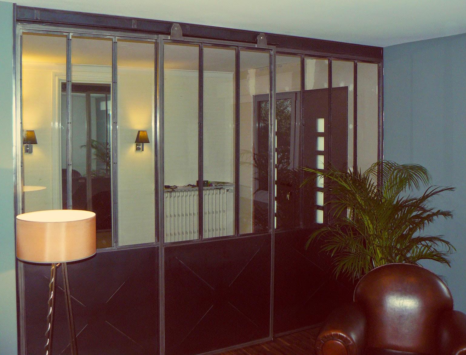 cloison fer forg et verre gm27 jornalagora. Black Bedroom Furniture Sets. Home Design Ideas