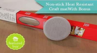 My craft channel dec 9th stenciling with gelatos for Tim holtz craft mat