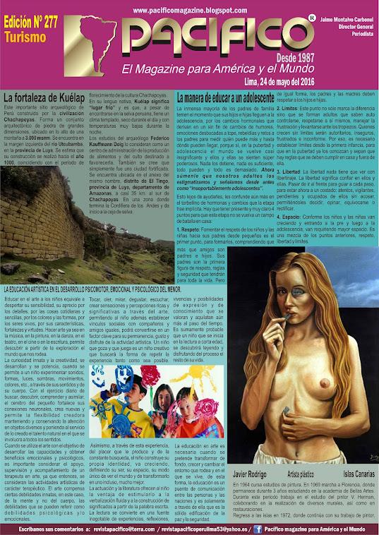 Revista Pacífico Nº 277 Turismo
