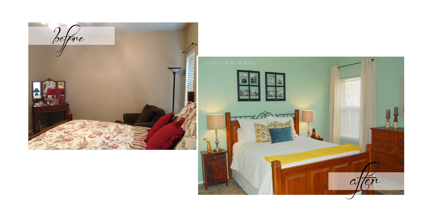 $500 Dollar Master Bedroom Makeover