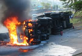 Trucks kill 3, injure 2 in Lagos, Ogun
