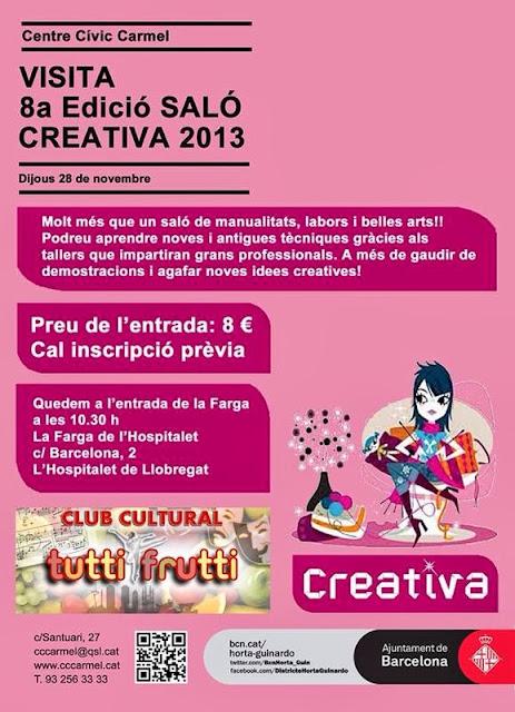 INFORMACIÓN CREATIVA BARCELONA 2013
