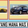 Chevrolet Spin Atau Mercedes Benz Pilih Yang Mana ?