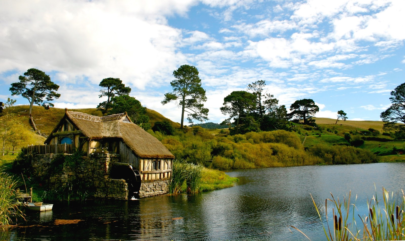 Matamata New Zealand  City pictures : Matamata Hobbiton,