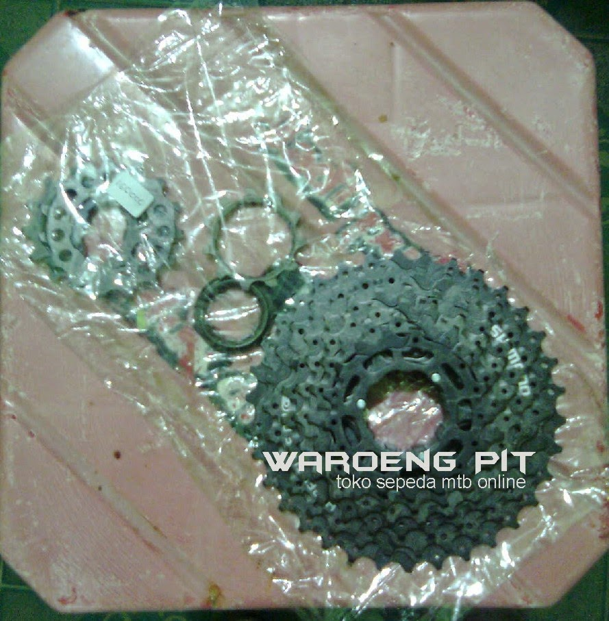 jual gear gir sprocket alivio 9 speed sepeda shimano gunung mtb mountain bike balap