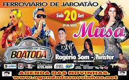 MUSA E BOA TODA NO FERROVIÁRIO DE JABOATÃO.