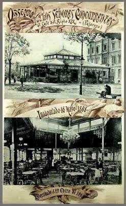 """LA PAJARERA"" -Pl. Catalunya - 1888"
