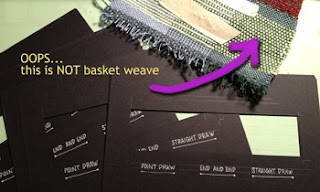 my Basket weave mistake