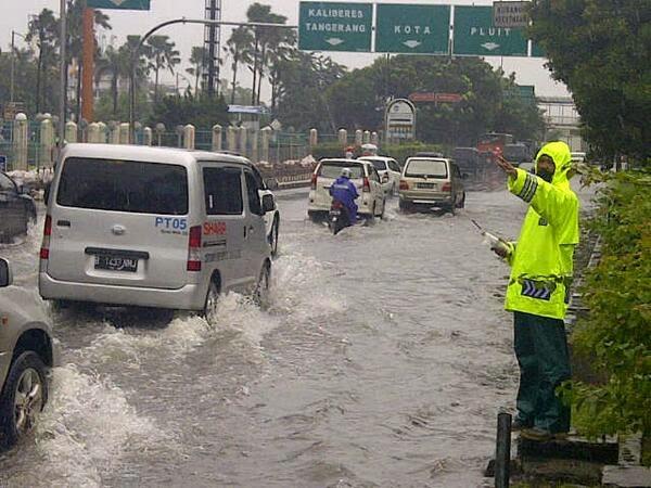 Ini 12 Titik di Jakarta Tergenang Banjir