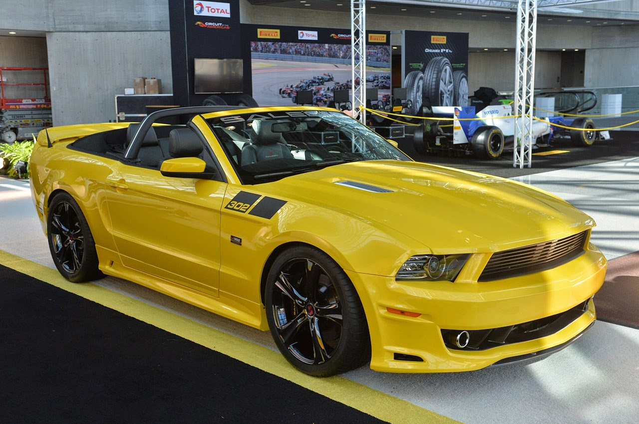 saleen 302 sc black label mustang speedster mustang news. Black Bedroom Furniture Sets. Home Design Ideas