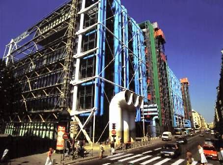 Centro Georges Pompidou. Renzo Piano y Richard Rogers