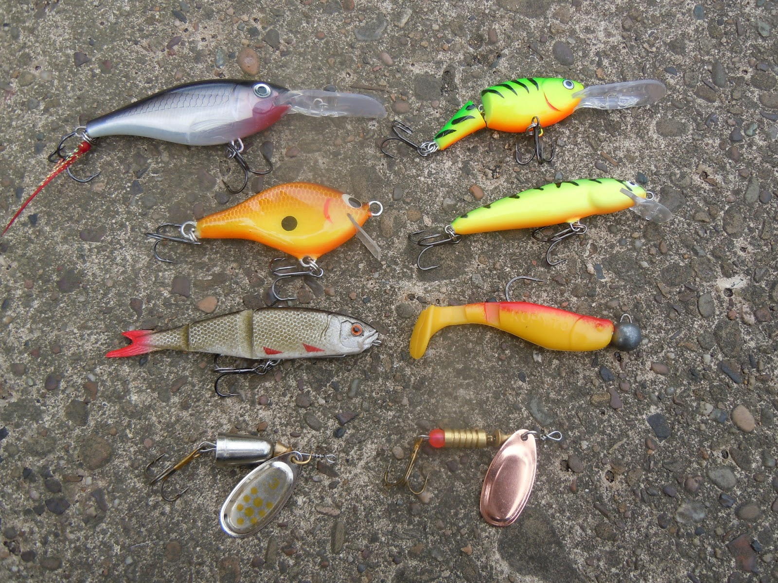 river piker new to lure fishing the casual lure ForBest Lures For River Fishing