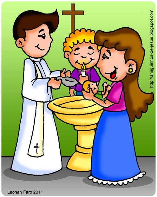 sacramento do batismo amiguinhos de deus