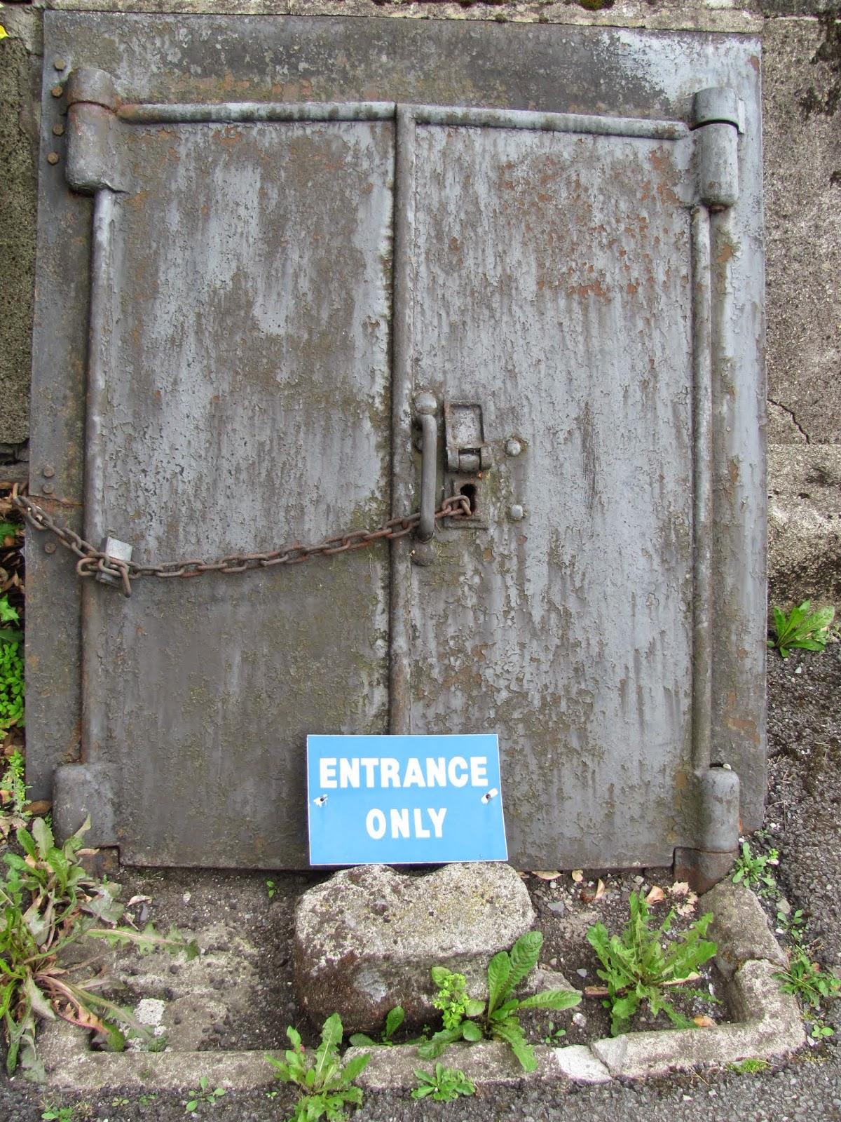 Entrance Only- No Exit! St. Michan's Church Dublin, Ireland