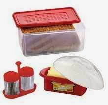Amazon : Prime Housewares Morning Breakfast Set 3 Pcs  Red at Rs.149 : Buy To Earn