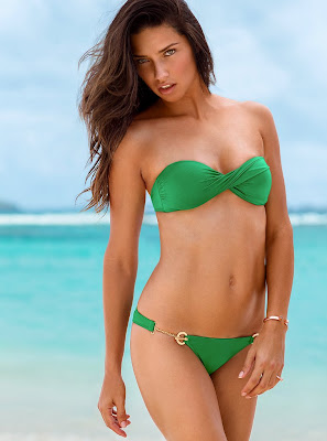 Adriana Lima hot body for Victoria's Secret bikini photoshoot