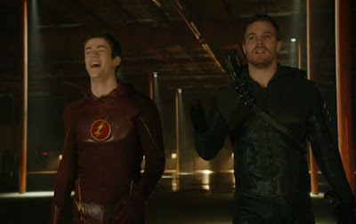 Flash Arrow Barry Oliver Grant Gustin Stephen Amell arrows leather suits