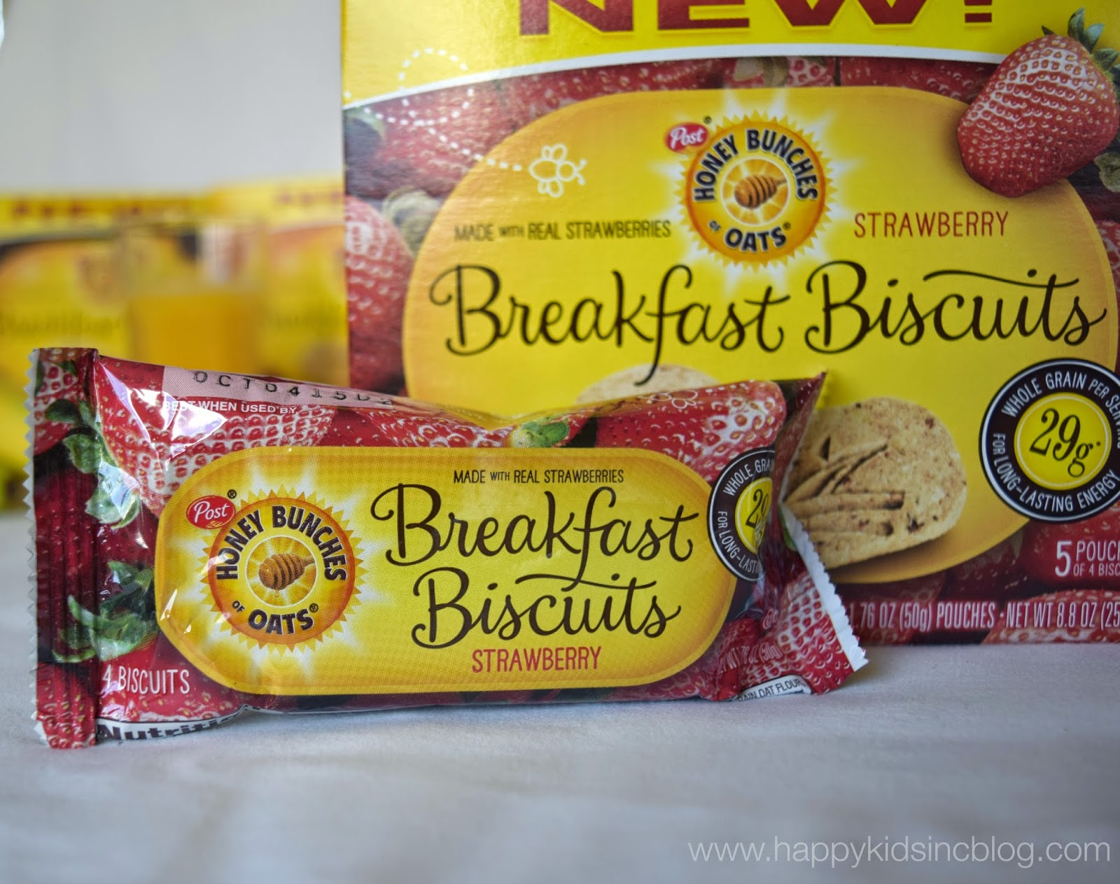 Honey Bunches of Oats Breakfast Biscuits