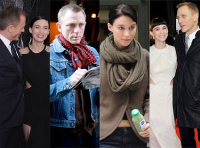 Rooney Mara and Daniel Craig Dragon Tattoo Edition