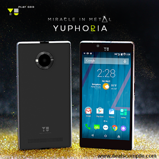 Micromax YU Yuphoria Rs. 6999 – Amazon