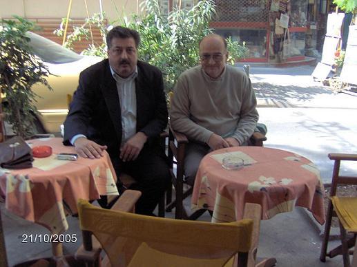 ΑΘΗΝΑ: Με τον Ιστορικό Πρόεδρο της ΟΛΜΕ- Δημήτρη Μπαλωμένο