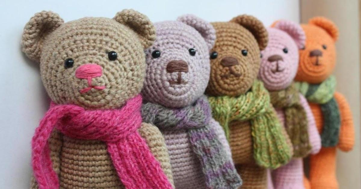Amigurumi Bears Patterns : Amigurumi creations by HappyAmigurumi: Teddy Bear is now ...