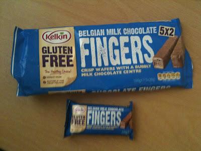 kelkin gluten free chocolate fingers