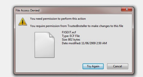 How to delete undetectable file