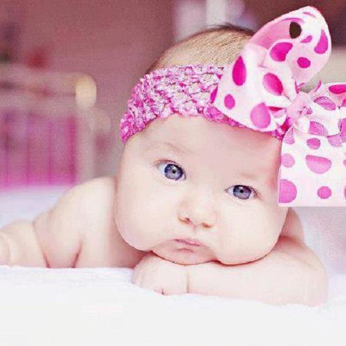 Les photos des bébés filles