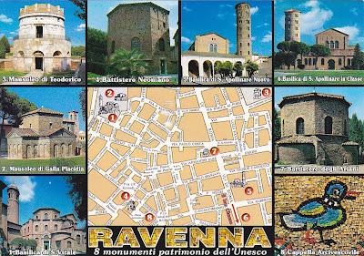 Маршрут по Равенне
