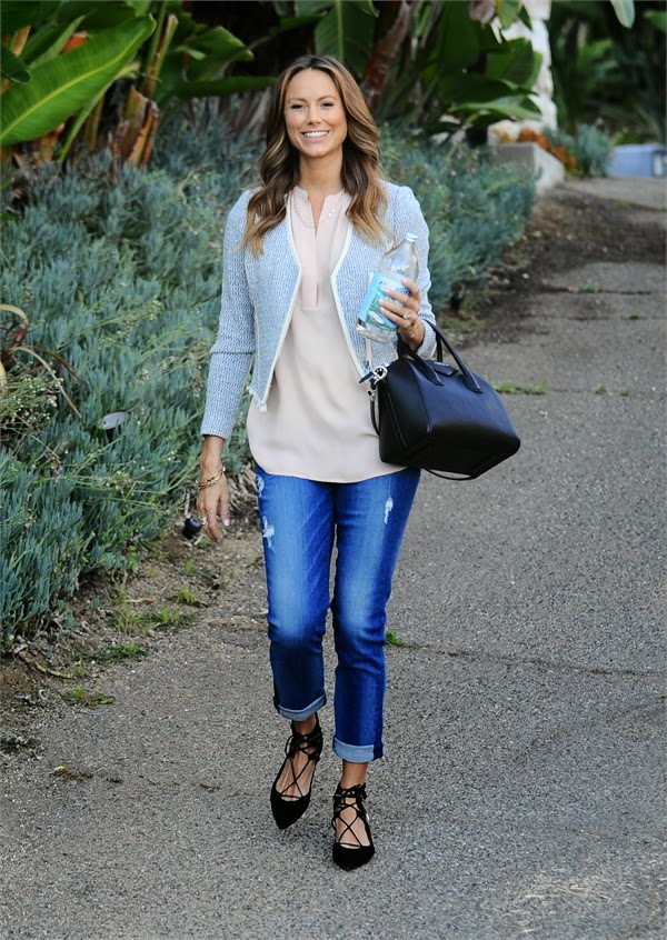 Stacy Keibler in casual outfit Leaving her house photo 1