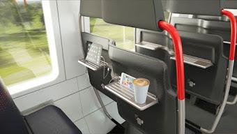 Optimizar el espacio en trenes y tranvías