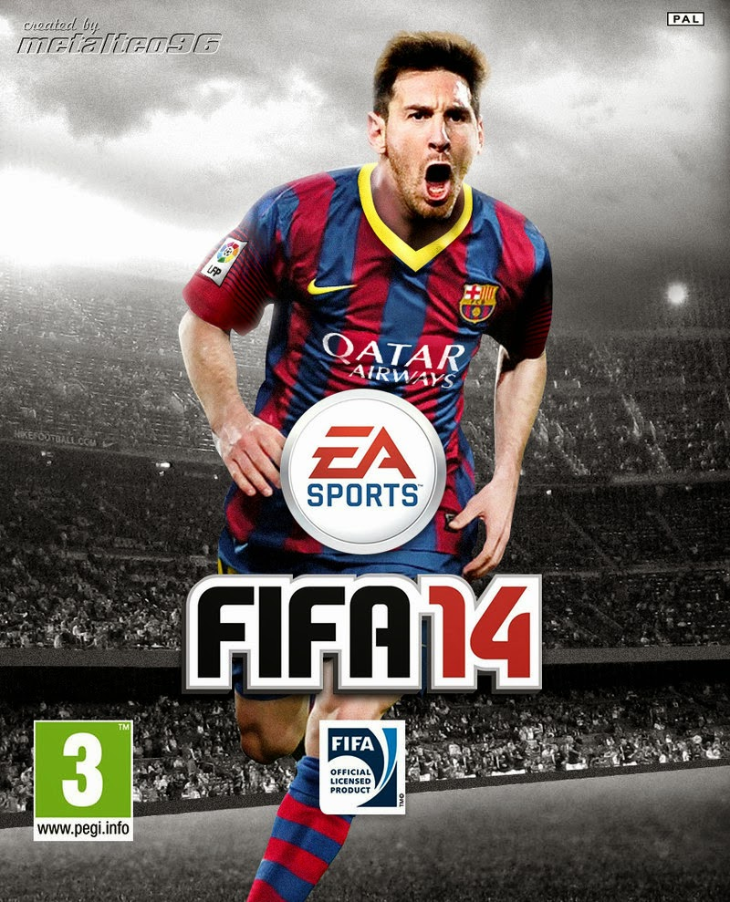 FIFA 2014 Black Box Single Link Full Version ISO