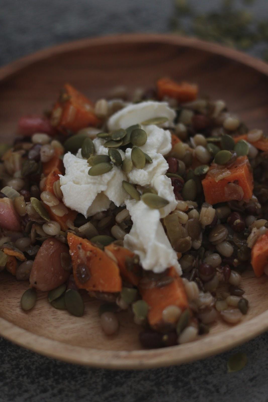 cher stuff: lentils & roasted radishes with meyer lemon ...