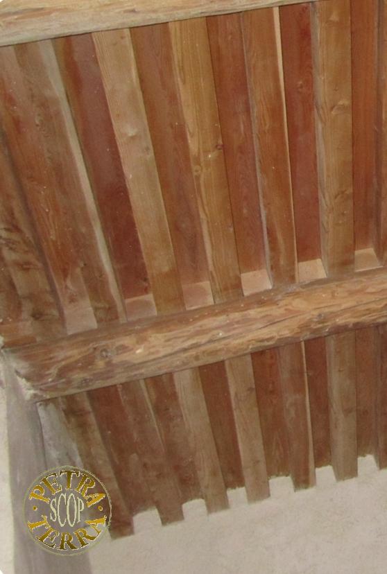 Petra Terra SCOP: réalisation d\'un plafond \