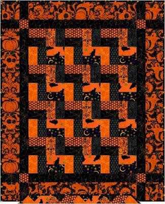 Quilt Inspiration Free Pattern Day Halloween