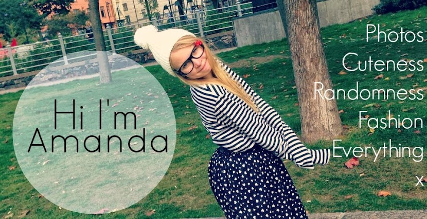 Hi I'm Amanda