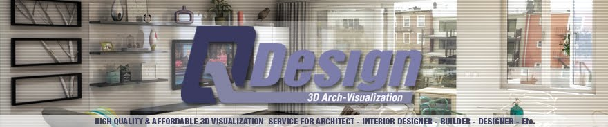 Q-Design [3D Visualization for Architectural & Product] - Modeling//Rendering