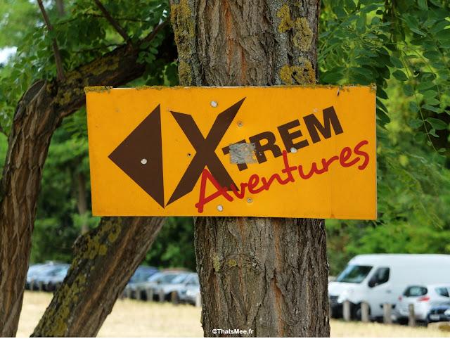 Xtrem aventures cergy accrobranche activité outdoor plein-air, ile base de loisirs Cergy pontoise  etang lac pique-nique activité evjf