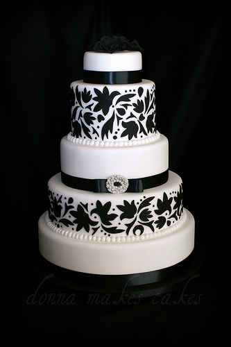 Dotty About Dotty AboutBlack And White Wedding Cakes