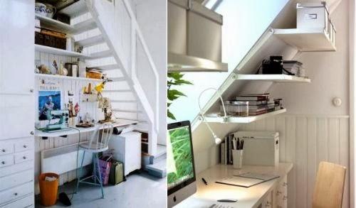 Aprovechar el espacio bajo las escaleras colores en casa for Soluciones bajo escalera